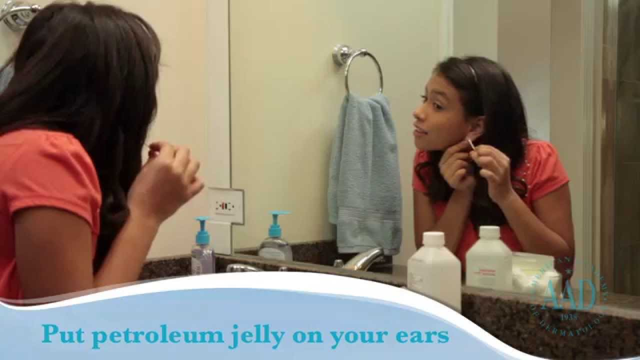 Caring for pierced ears | American Academy of Dermatology