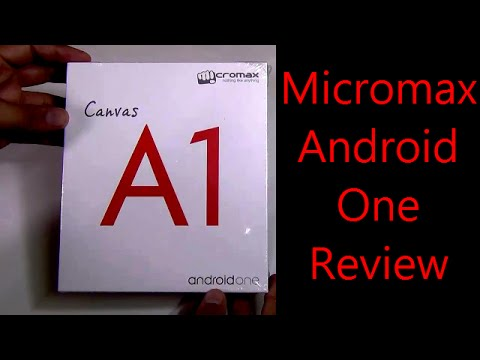 Micromax Canvas A1 Review: Micromax Android One Unboxing & Review