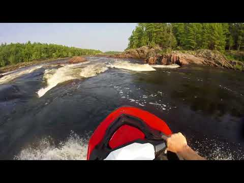 Rippin the Sea Doo Spark down Ottawa River Whitewater