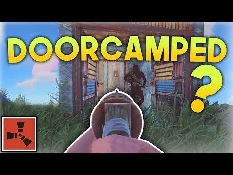 SALTY KID GETS DOORCAMPED! | Rust SOLO Series #2