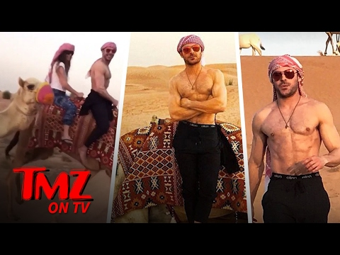 Zac Efron Shirtless AGAIN | TMZ TV
