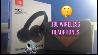jBL DUET BT Unboxing and Review