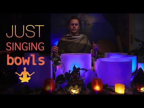 432Hz - Nothing but Singing Bowls 2 - Healing Sound Bath No Talking 4k