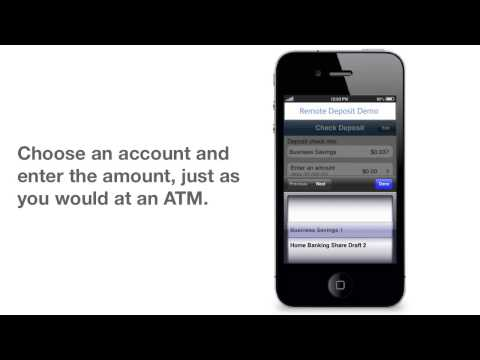 Mobile Check Deposit from CommunityAmerica Credit Union