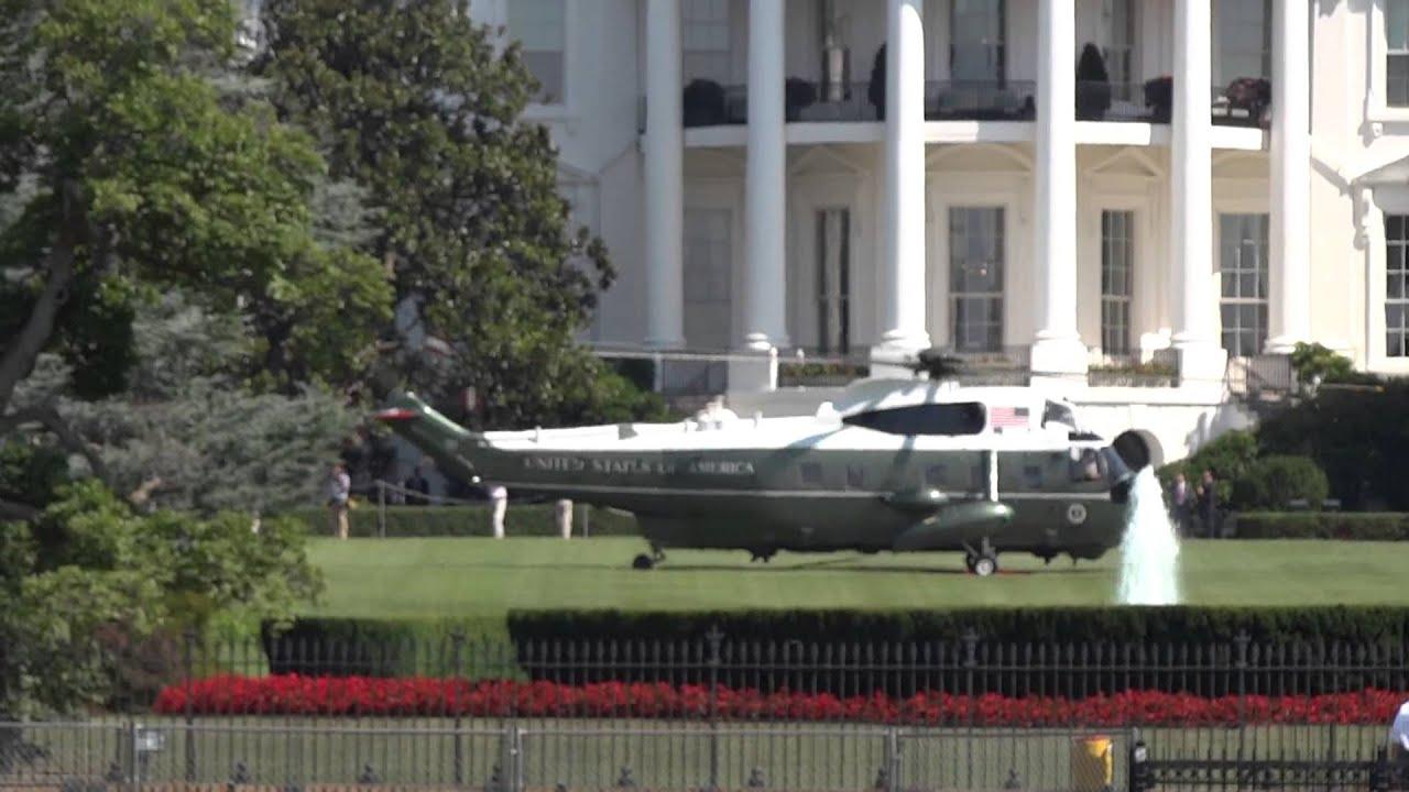 Helicopter komt obama oppikken aan het witte huis deel 2 youtube - Huis van de cabriolet ...