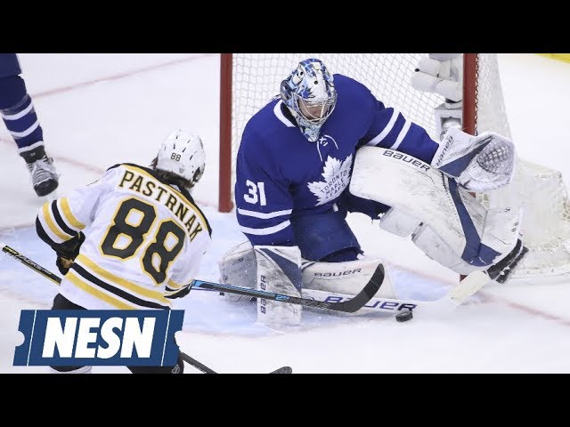 Frederik Andersen Stands Tall For Maple Leafs vs. Bruins In Game 3