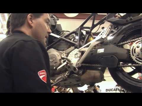How To Adjust Chain Ducati Monster