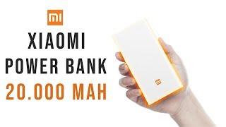 xiaomi Power bank 20000 mAh مراجعة باور بنك