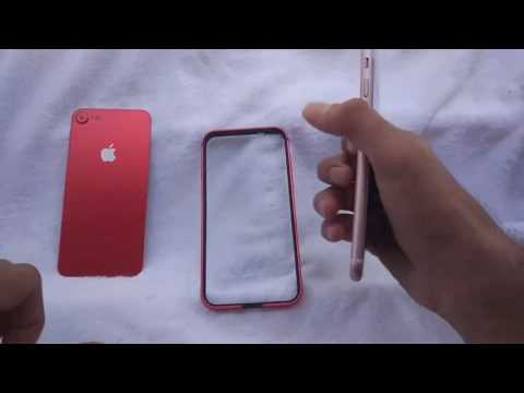 the best attitude 17449 e0c02 Turn iPhone 7 into iPhone 7 Red