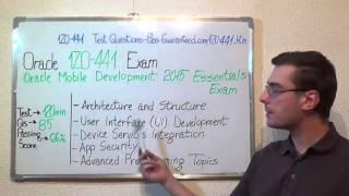 1Z0-441 – Oracle Exam Mobile Development Test Essentials Questions