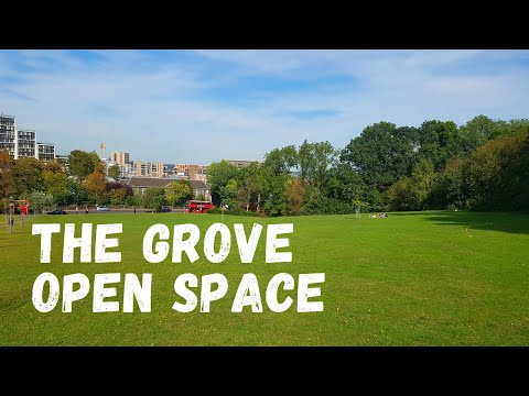 LONDON WALK: THE GROVE OPEN SPACE PARK, HARROW - WALKING TOUR VLOG | ST MARY'S CHURCH