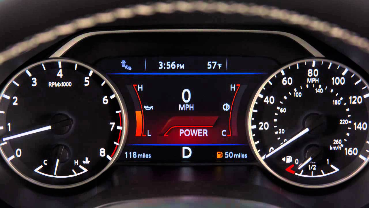 2016 Nissan Maxima -  Manual Shift Mode