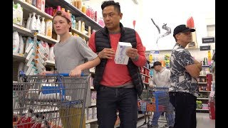 FARTING PRANK AT WALMART - The Pooter
