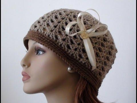 cf1c5f776 Crochet Shell Beanie - How to Crochet Shell Beanie
