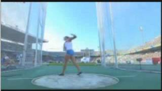 How to Throw the Discus 219' - 66.93m:Sandra Perkovic, Age 20