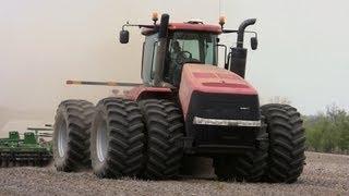 Case IH Steiger 500 Tractor Near Holcomb, Illinois on 4-24-2012