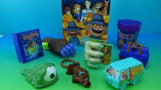 Scooby-doo Mcdonald's European Import Happy Meal Toy Collection