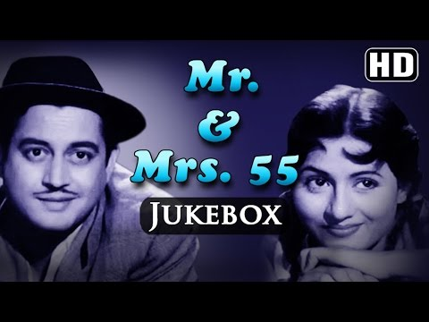 All Songs Of Mr & Mrs. 55 - Guru Dutt - Madhubala - O P Nayyar Hits - Evergreen Old Hindi Songs (HD)