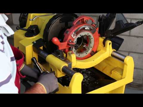 SDT 1224 Pipe Threading Machine fits RIDGID® 26092 - Steel Dragon Tools Full Instructional Video