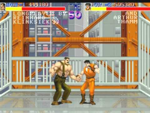 Arcade Longplay  Final Fight TwoPlayermode