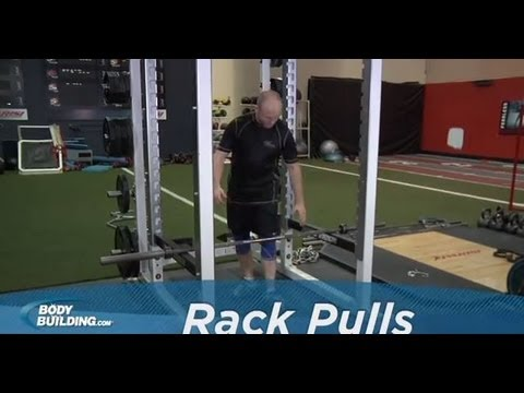 Rack Pulls - Back Exercise - Bodybuilding.com