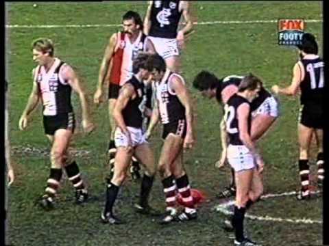 StKilda vs Carlton  Rd 6  1982