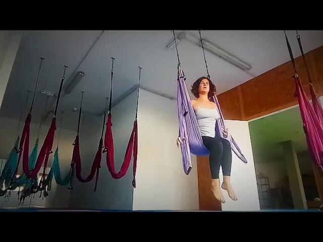 Yoga en suspensión 💫