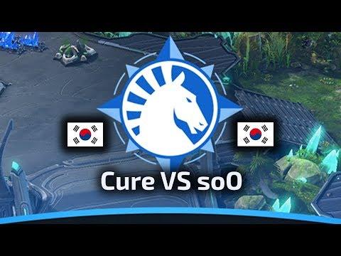Cure VS soO - TvZ - WardiTV Team Liquid Map Contest Tournament 6 - polski komentarz