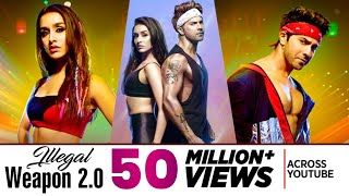 Illegal Weapon 2.0 ( Full Video Song ) Street Dancer 3D | Varun D, Shraddha K | Jasmine Sandlas
