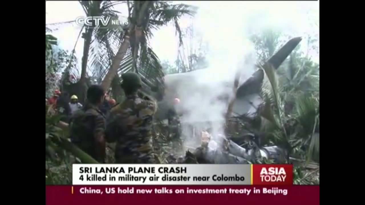 4 Killed In Sri Lanka Plane Crash Youtube