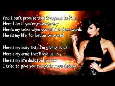 Demi Lovato - Yes (Lyrics)