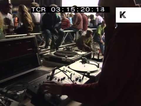 1989 UK Rave, DJ, Decks, Records, Acid House
