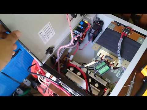 4000w 48v EGS002 diy hybrid inverter run MMA Welder machine..Hy4008 mosfet run cooler