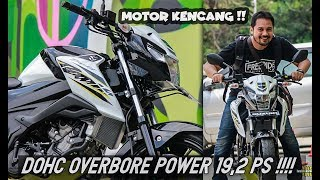 Video REVIEW SUZUKI BANDIT 150 VERSI TURING | POWER 19.2PS download MP3, 3GP, MP4, WEBM, AVI, FLV September 2018