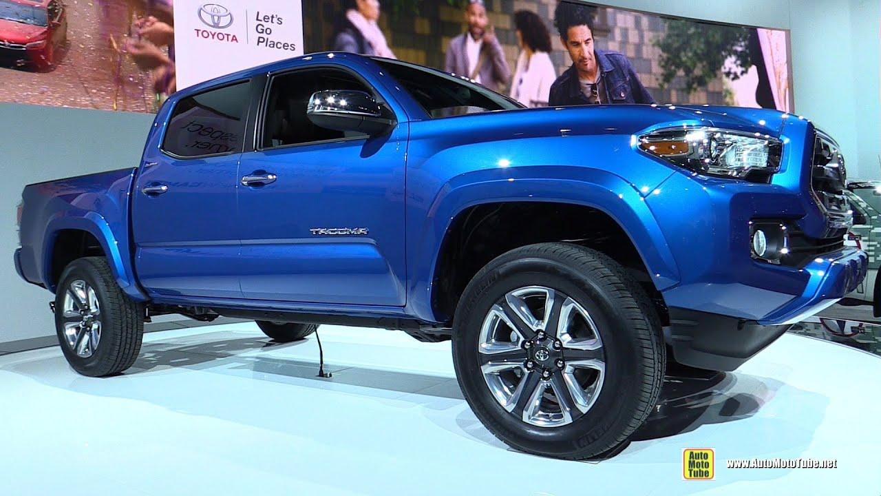 2016 Toyota Tacoma Limited   Exterior, Interior Walkaround   Debut At 2015  Detroit Auto Show   YouTube