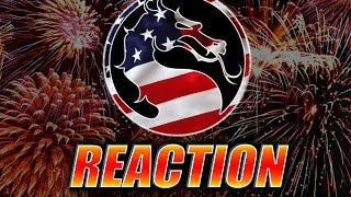 MAX REACTS: 4th of July w/Mortal Kombat X