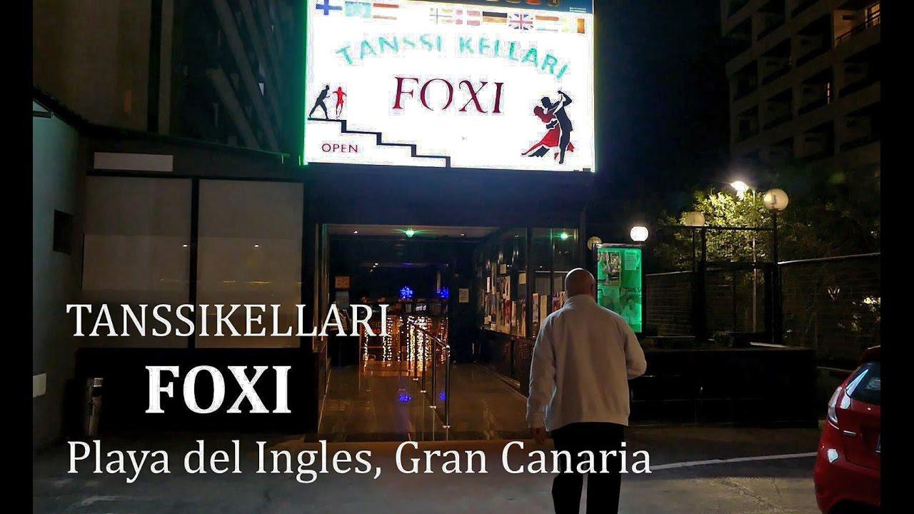 Tanssikellari Foxi Playa Del Ingles Esiintyjät 2021