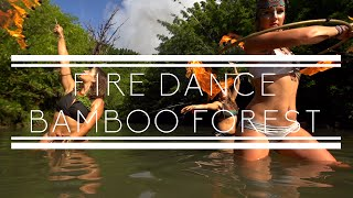 Fire Dance Bamboo Forest - Maui Hawaii