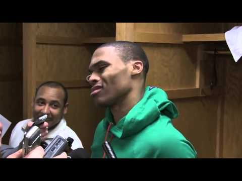 """WHAT!  Russell Westbrook Calling a Journalist THE """"N"""" Word(oh yes he did)"""