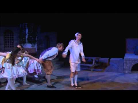I Shipped, D'Ye See - Ruddigore At The Minack Theatre 2012
