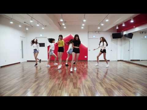 [mirrored & 50% slowed] GFRIEND - LOVE WHISPER Dance Practice ver.