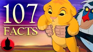 107 The Lion King Facts YOU Should Know! | Channel Frederator