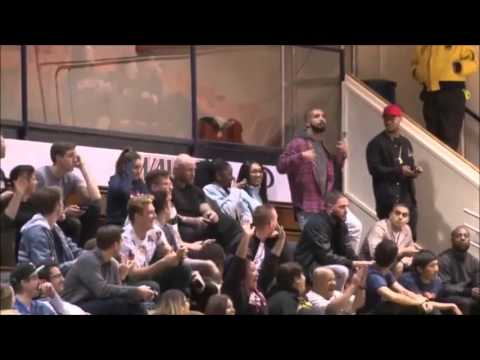 Rapper DRAKE Visits Pepperdine University, Supports the Pacific Tigers Basketball Team (VIDEOS)
