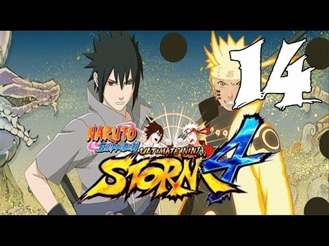 Naruto Ultimate Ninja Storm 4 - Walkthrough Part 14: Two Heroes Side by Side