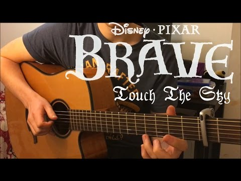 Touch The Sky Brave Ost Fingerstyle Guitar Cover By Neil Wicker