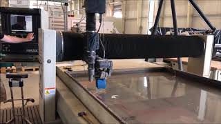 OMAX 60120 Water Jet Cutting Machine Mp3