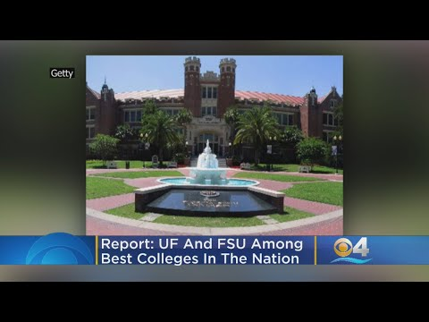 UF, FSU Among Best Colleges In Nation, According To U.S News And World Report