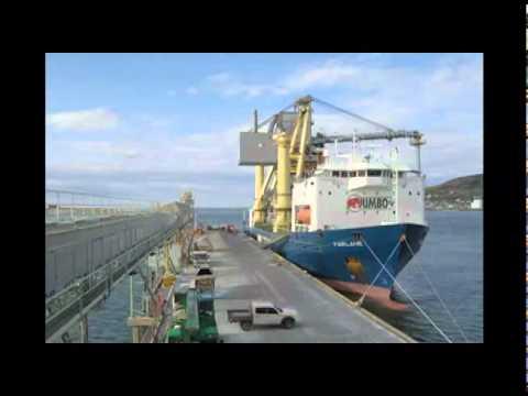 Jumbo Shipping: Discharging a 544 tons ALESA Shipunloader