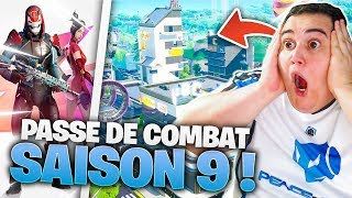 ON DECET ALL THE SAISON 9 OF FORTNITE BATTLE ROYALE! (Fighting Pass, Tilted Towers...)