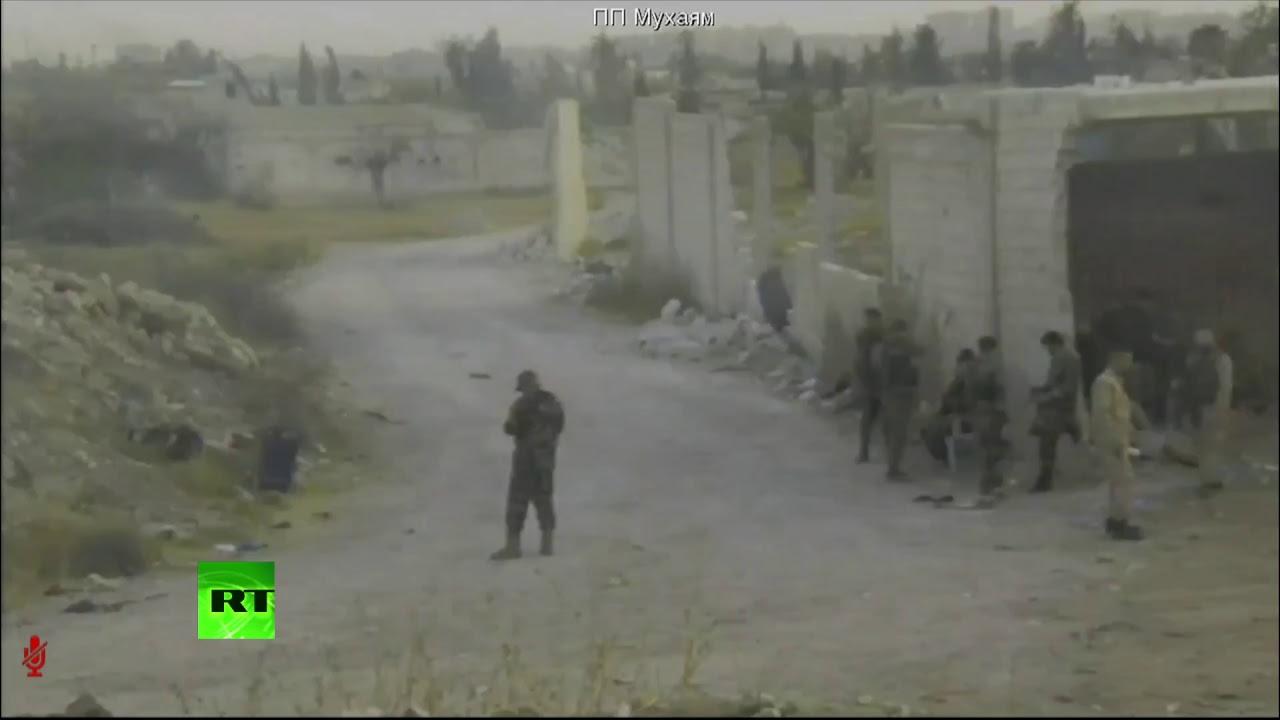 Ситуация близ пункта пропуска «Мухайям аль-Вафедин» в Восточной Гуте — LIVE